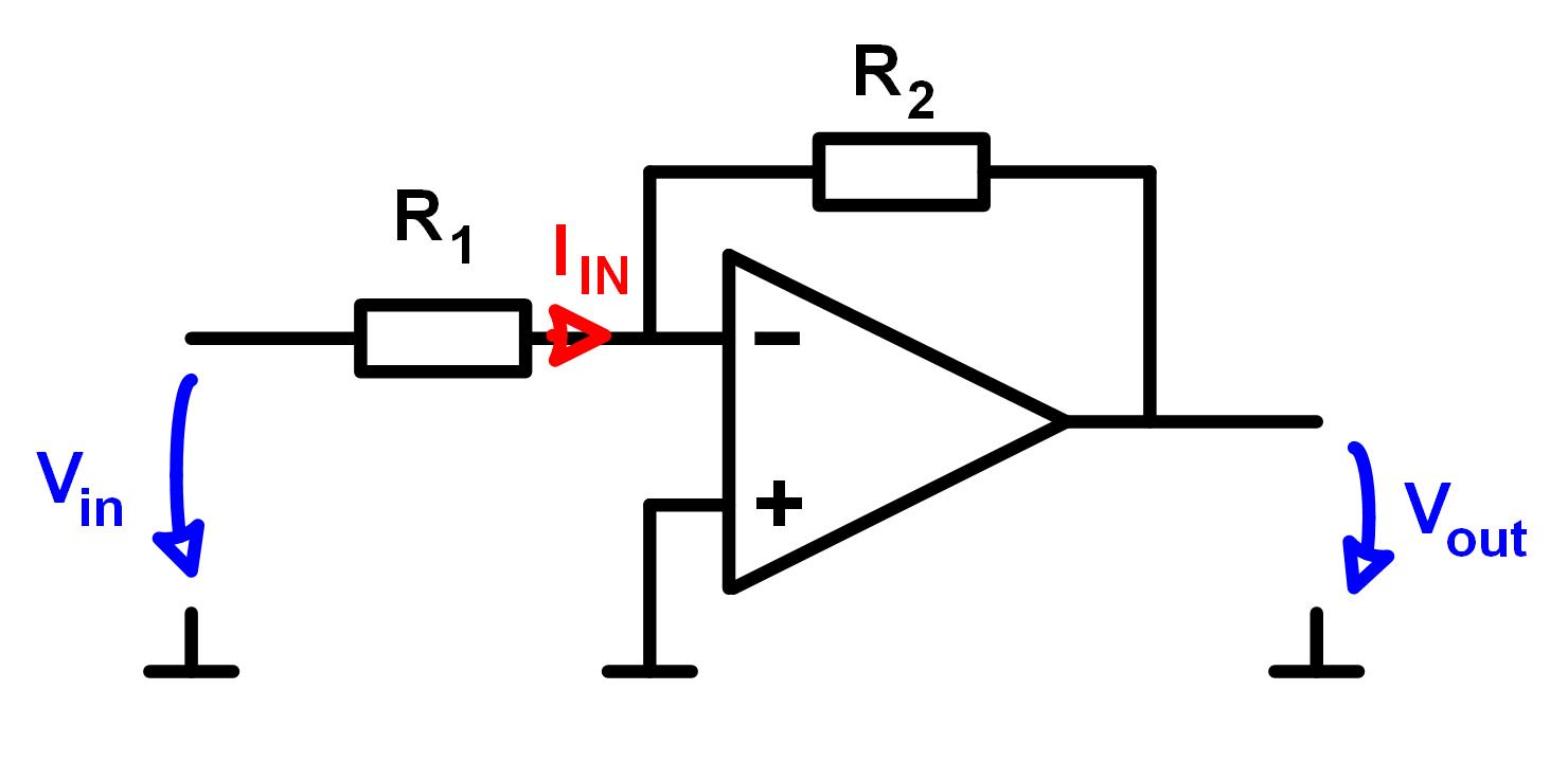 invertierender operationsverstaerker berechnen. Black Bedroom Furniture Sets. Home Design Ideas