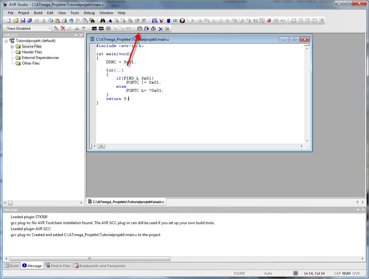 การปรับแต่ง AVR Studio 6 ให้สามารถโปรแกรมลง Arduino