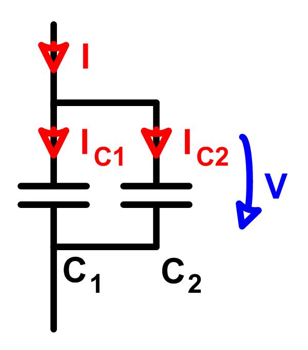 Kapazitiver Stromteiler